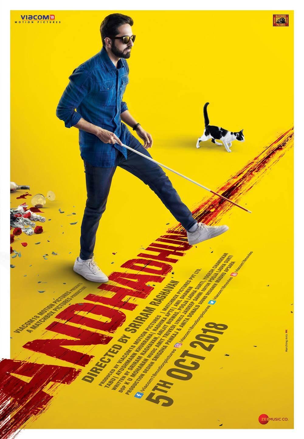 Andhadhun (2018) BluRay 720p