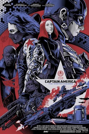 Captain America 2 : The Winter Soldier (2014) BluRay 720p
