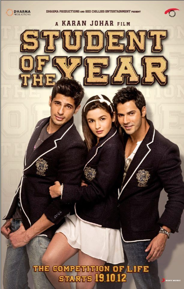Student of the Year (2012) BluRay 720p