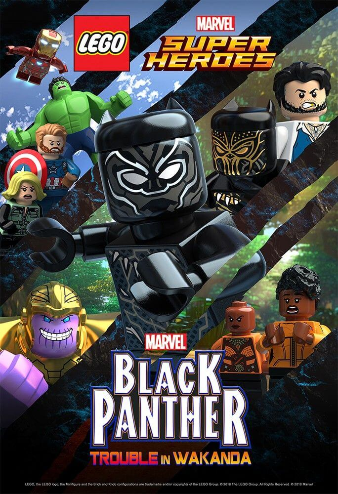 LEGO Marvel Super Heroes: Black Panther – Trouble in Wakanda(2018) BluRay 720p