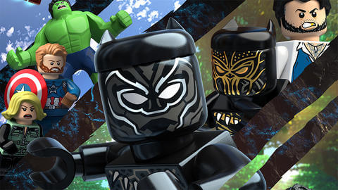 LEGO Marvel Super Heroes: Black Panther - Trouble in Wakanda(2018) movie download