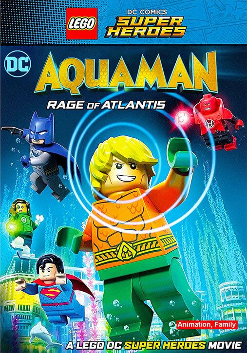 LEGO DC Comics Super Heroes: Aquaman – Rage of Atlantis (2018) BluRay 720p
