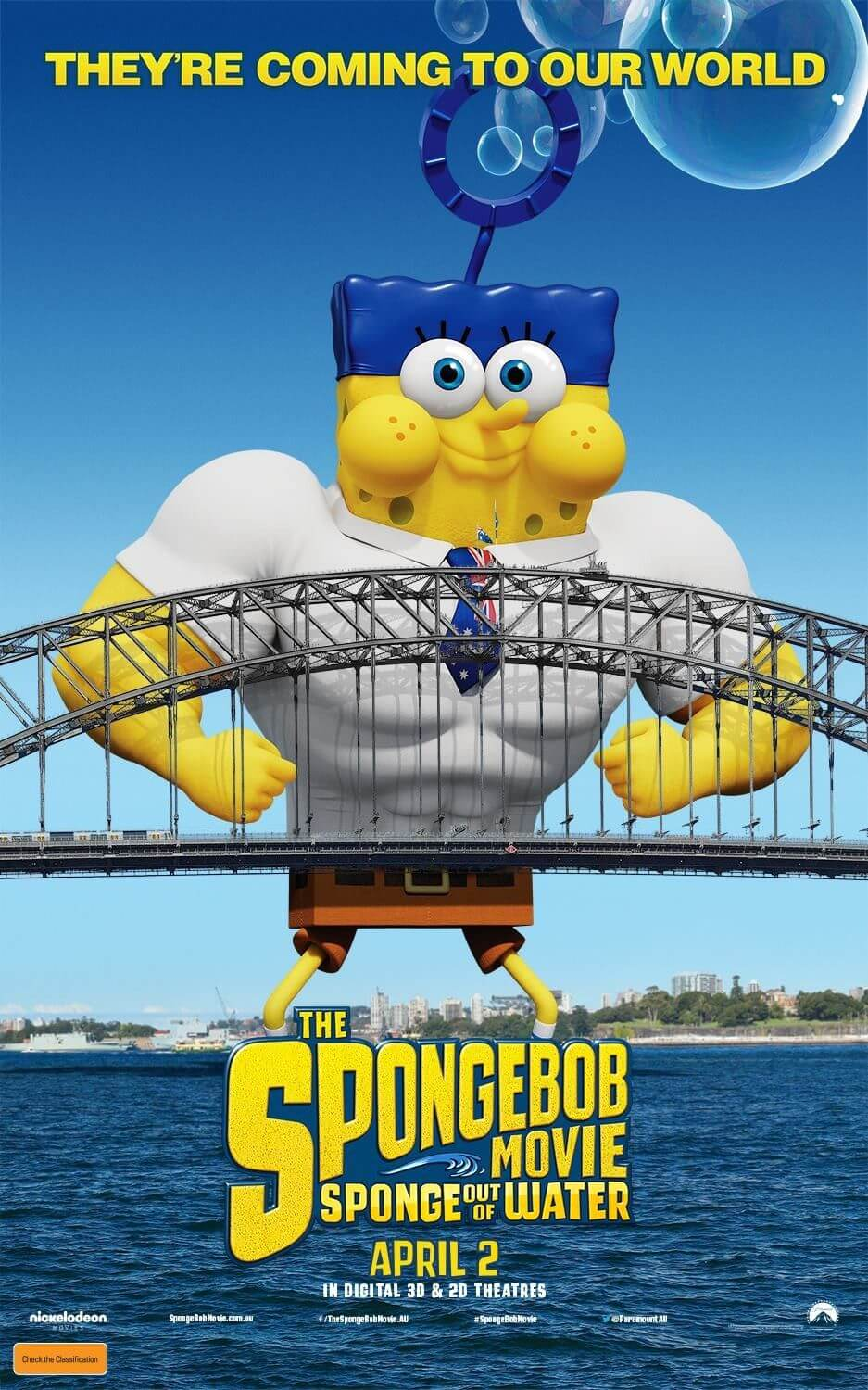 The SpongeBob Movie: Sponge Out of Water (2015) BluRay 720p
