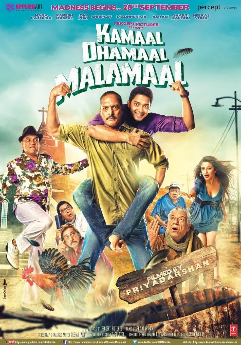 Kamaal Dhamaal Malamaal (2012) BluRay 720p