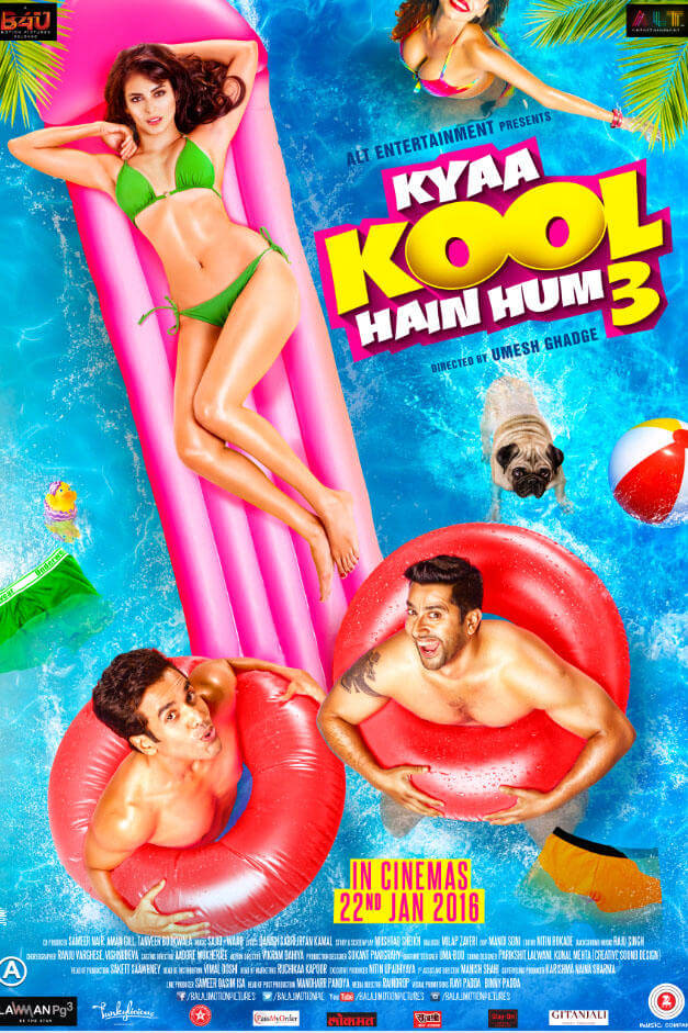 Kyaa Kool Hain Hum 3 (2016) BluRay 720p