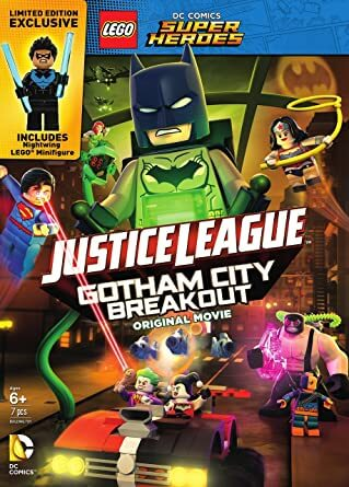 Lego DC Comics Superheroes: Justice League – Gotham City Breakout(2016)   BluRay 720p