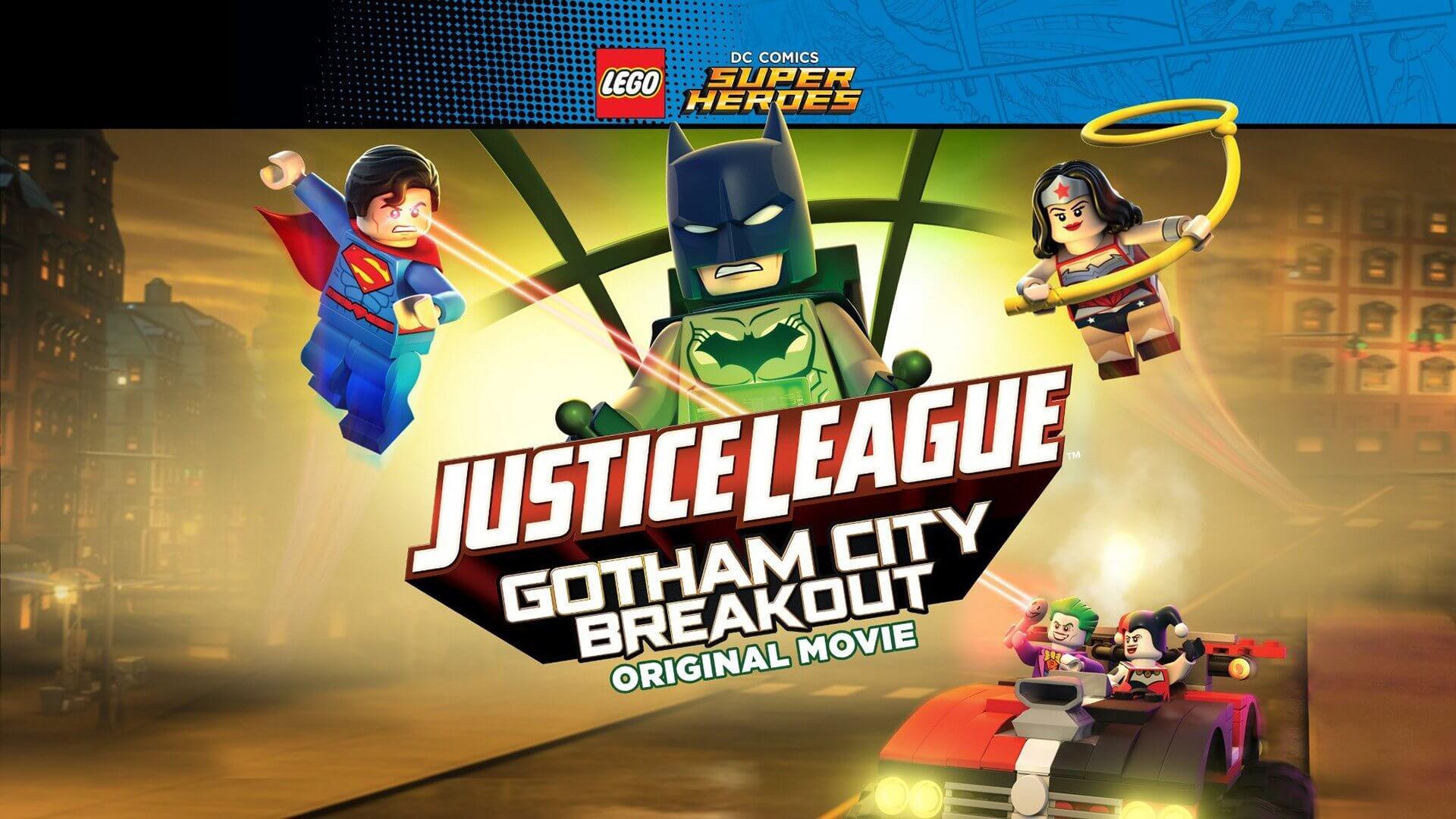 Lego DC Comics Superheroes- Justice League - Gotham City Breakout movie download