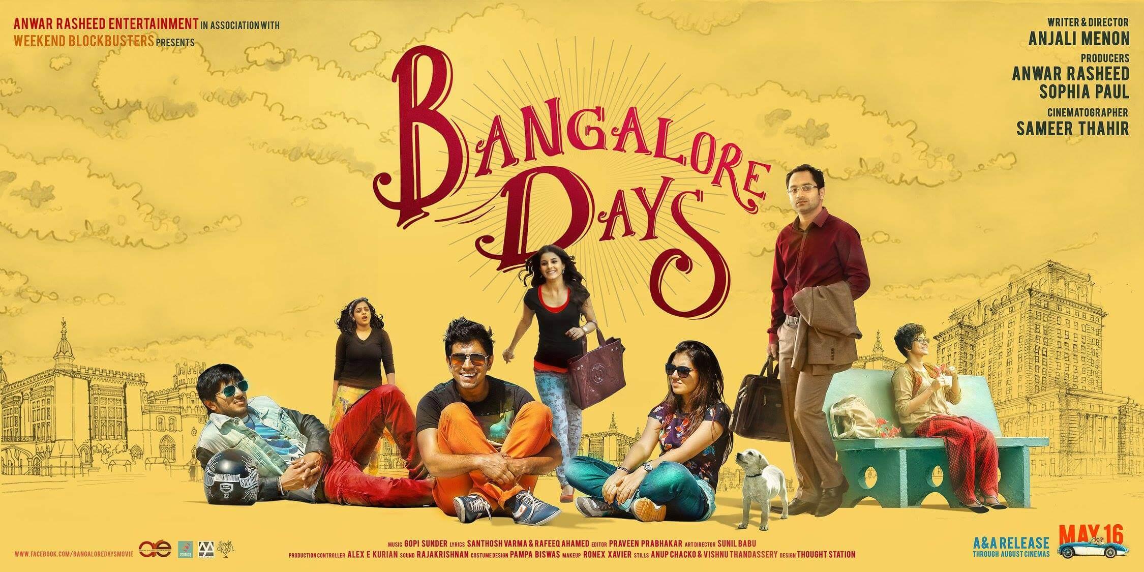bangalore days movie download